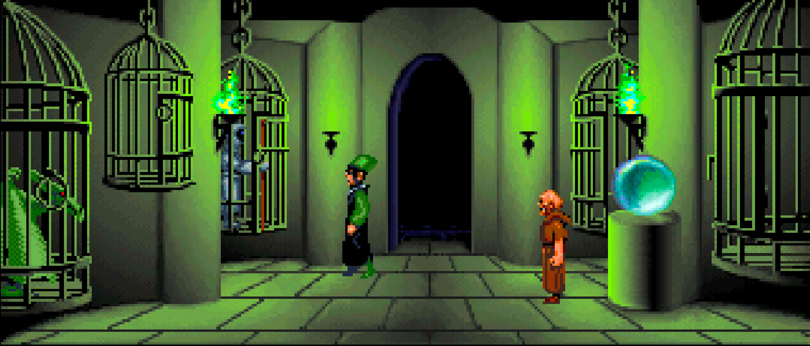 Im Gefängnis von Bischof Mandible